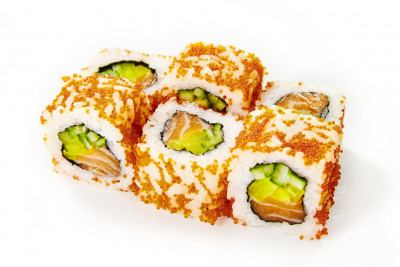 California roll kaviár